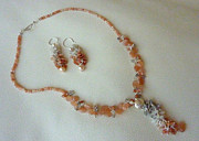 Peach Colored Originals - MoonShades Set by Marta Eagle
