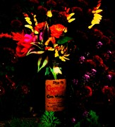 Hooch Prints - Moonshine Bouquet  Print by Chris Berry