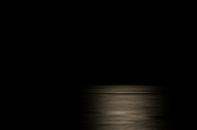Sea Moon Full Moon Photo Metal Prints - MoonShine Metal Print by Paul W Sharpe Aka Wizard of Wonders
