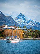 Nz Prints - Moored yacht Print by Barry Teutenberg