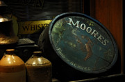 Barrel Digital Art - Moores Tavern After Closing by Mary Machare