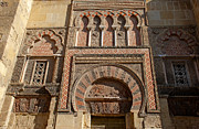 Influences Prints - Moorish architecture Print by Perry Van Munster