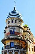 Wind Vane Photos - Moorish Tower by Mary Machare