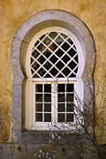 Arab Photo Framed Prints - Moorish Window Framed Print by Carlos Caetano