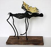 Animal Sculpture Originals - Moose by Buzz Leighton
