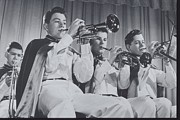 Music Of The Past Framed Prints - Mooseheart High School Band, 1950 Framed Print by Archive Holdings Inc.