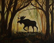 Cabin Wall Originals - Mooses Manor by Leslie Allen