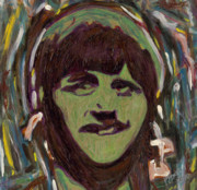 Fab Four  Art - Mop Top Ringo by John Pasdach