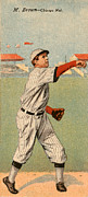 Baseball Uniform Posters - Mordecai Brown (1876-1948) Poster by Granger