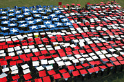 Patriotism Prints - More Than 1,200 Service Members Create Print by Stocktrek Images