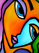 Faces Drawings Originals - More Than Enough - Abstract Pop Art by Fidostudio by Tom Fedro - Fidostudio