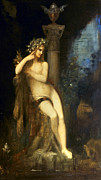 Moreau Paintings - Moreau: Fairy With Griffins by Granger