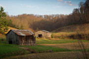 West Fork Photos - Morgan County Farm Valey by Douglas Barnett