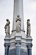 Metairie Cemetery Photos - Moriarty Tomb by Kathleen K Parker