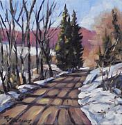 Pranke Paintings - Morin Heights by Richard T Pranke