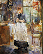 Berthe Photos - Morisot: Dining Room, 1886 by Granger