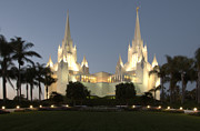 Tourist Industry Photos - Mormon Cathederal San Diego 2 by Bob Christopher