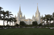 Tourist Industry Photos - Mormon Cathederal San Diego by Bob Christopher