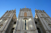 Angel Moroni Prints - Mormon Temple Print by David Lee Thompson