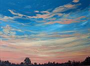 Sunrise Painting Originals - Mornin IV by Pete Maier