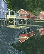 Gary Giacomelli - Morning at Telegraph cove
