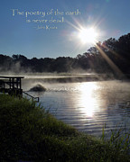 Terry Eve Tanner - Morning at the Fish Hatchery Inspirational