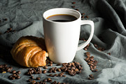Coffee Mug Prints - Morning Coffee Print by Chelsey Arseneau