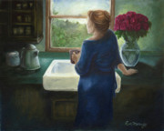 Mothers Paintings - Morning Coffee by Eve McCauley