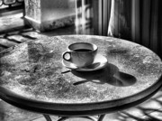 Round Table Prints - Morning Coffee Print by Jimmy Ostgard