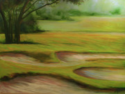 Morning Fairway Print by Michele Hollister - for Nancy Asbell