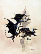 Dragon Art - Morning Flight by Stanley Morrison