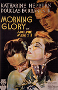 1933 Movies Framed Prints - Morning Glory, Adolphe Menjou Framed Print by Everett