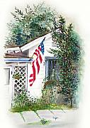 U S Flag Originals - Morning Glory by Rich Velasco
