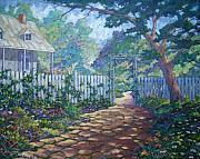Artgallery Paintings - Morning Glory by Richard T Pranke