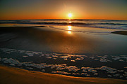 Beach Photograph Photos - Morning Has Broken by Steven Ainsworth