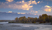 Jackson Prints - Morning in Jackson Print by Idaho Scenic Images Linda Lantzy