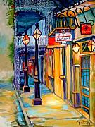 New Orleans Oil Paintings - MORNING In The FRENCH QUARTER by Marcia Baldwin