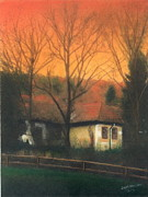 Farm Pastels - Morning by John Brisson
