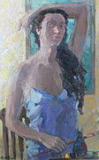 Portrait Of Woman Originals - Morning by Juliya Zhukova