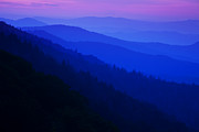 Smoky Mountains Posters - Morning Light Poster by Andrew Soundarajan