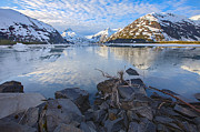 High Definition Art - Morning Light at Portage Lake by Tim Grams