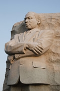 Martin Luther Photos - Morning Light on MLK Memorial - Washington DC by Brendan Reals