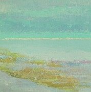 Tampa Painting Originals - Morning Low Tide by Gail Kent