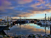 Yachts Prints - Morning Magic Print by Douglas Barnard