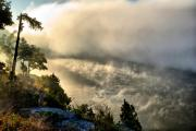 River Mist Photos - Morning Mist by Edward Myers