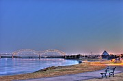Barry Jones Metal Prints - Morning on the Mississippi Metal Print by Barry Jones
