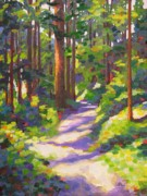 State Paintings - Morning on the Trail 3 by Mary McInnis