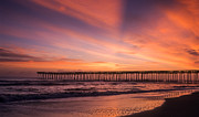 Artist With Camera Prints - Morning Pier  Print by Joye Ardyn Durham