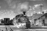 Steam Train Prints Art - Morning Special by Ken Smith