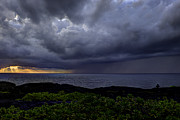 Keaau Prints - Morning Squall Print by Mike Herdering